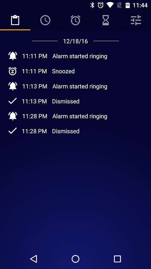 Early Bird Alarm Clock- screenshot