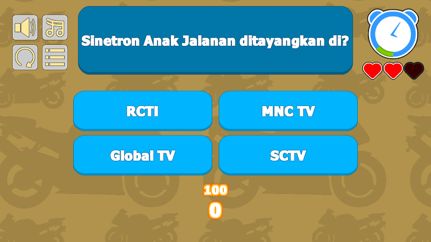android Quiz Anak Jalanan Screenshot 1