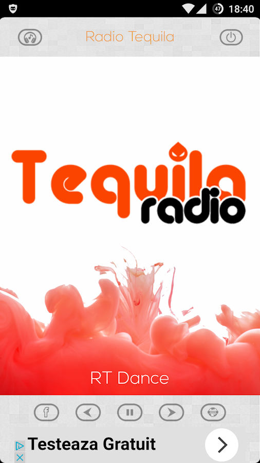 Radio Tequila- screenshot