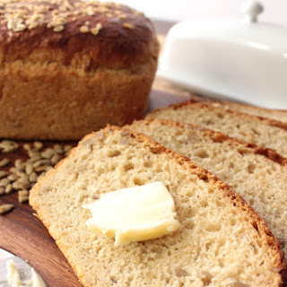 Oatmeal Honey Bread with Sunflower Seeds