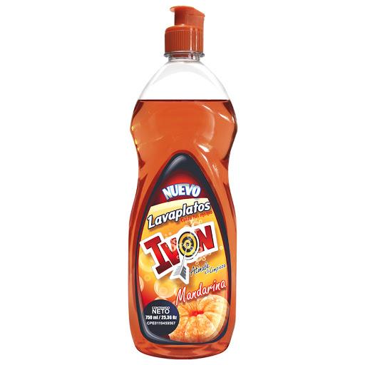 lavaplato liquido ivon mandarina 750ml