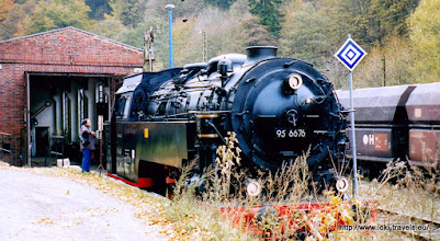 Photo: Oktober 2003. Rübeland.