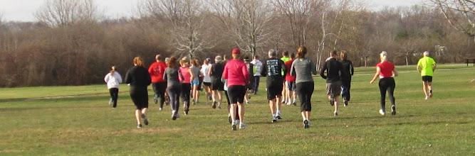 Photo: and they are off and running at the 1st annual Run 4 Vets event