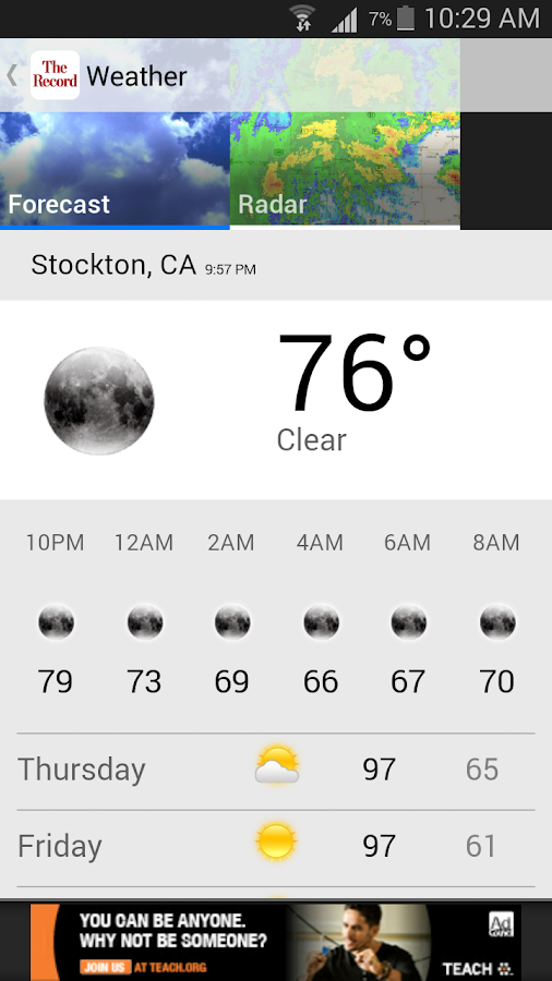 Recordnet, Stockton, Calif.- screenshot