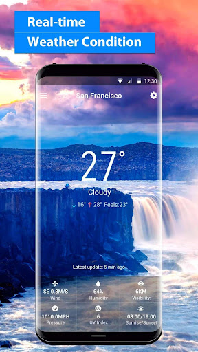 free live weather on screen 16.6.0.6243_50109 screenshots 2