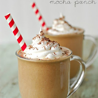 Frosty Mocha Punch.