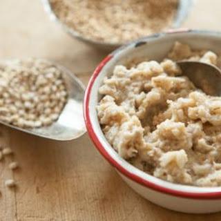 Slow Cooker Honey-Vanilla Multigrain Hot Cereal.