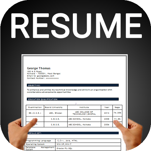 Resume Builder Free CV Maker Templates Formats App On Google Play