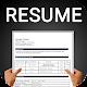 Resume builder Free CV maker templates formats app apk