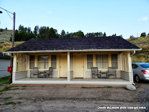 Photo: Two room cabin at Mammoth Springs