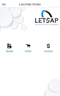 LetsOrder Mobile- screenshot thumbnail