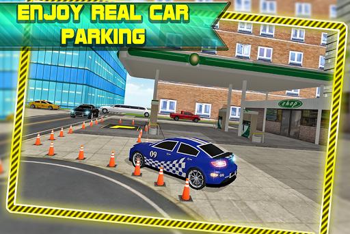 實際交通停車場3D
