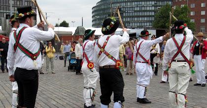 Photo: EKEN WITH A LONG STICK DANCE .....