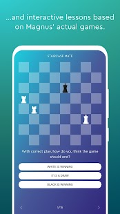 Magnus Trainer - Learn & Train Chess Screenshot
