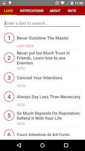 48 laws of power android apps on google play 48 laws of power screenshot thumbnail sciox Images