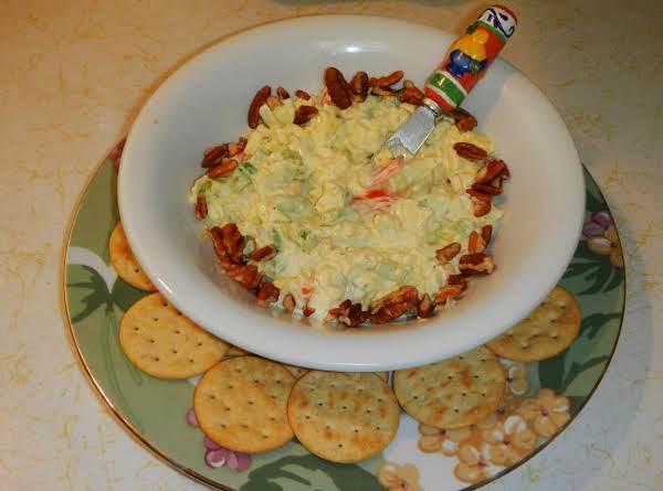 Horsey-pecan Egg Salad Appetizers Recipe