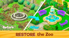 動物園レスキュー: マッチ 3 と動物 (Zoo Rescue)のおすすめ画像1