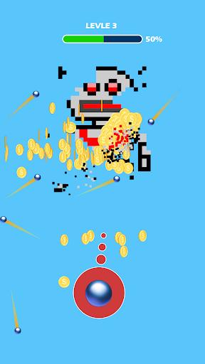 Télécharger Gratuit Shooting the Pixel - Guns & Briques apk mod screenshots 1
