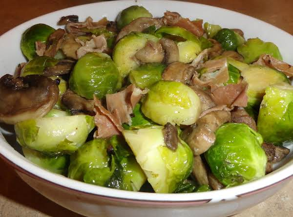Brussel Sprouts With Proscuitto Recipe