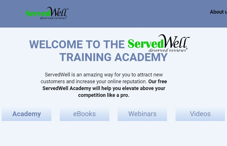 icon for ServedWell training academy