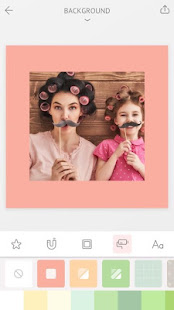 April – Camera360 cute Layout and Template 6