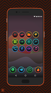Lux Dark - Icon Pack Screenshot