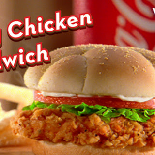 Wendy's Spicy Chicken Sandwich!