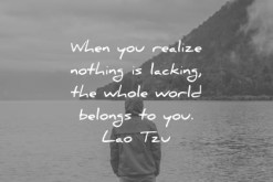 Quote Lao Tzu When You Realize