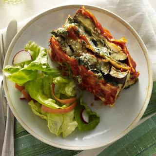 Spinach-Eggplant Lasagna Loaf