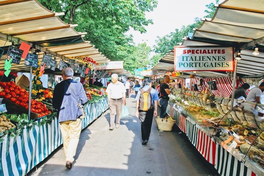 Marché Cours de Vincennes マルシェ・クーヴェル・デュ・ヴァンセンヌ