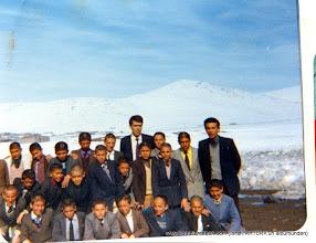Photo: İSrafik AKTÜRK ve Köprülü Ortaokulundan öğrenciler