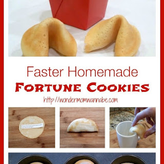 Faster Homemade Fortune Cookies Recipe