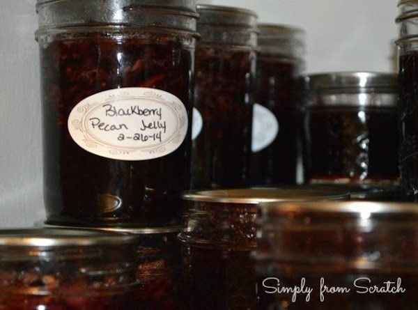 Blackberry Pecan Jelly Recipe