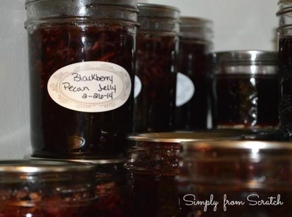 Blackberry Pecan Jelly Recipe