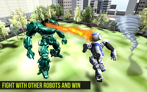 Robot Futuristic Tornado:Robot Transformation 2020 android2mod screenshots 5