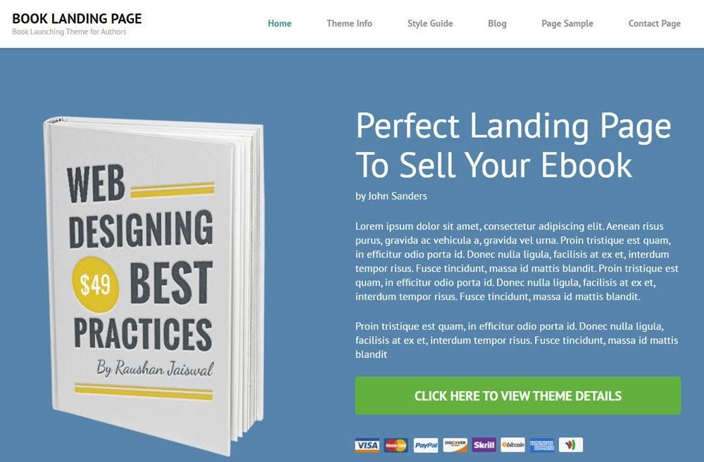 theme-wordpress-mien-phi-book-landing-page