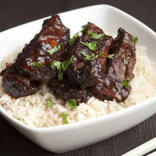 Slow Cooker Hoisin Spare Ribs.