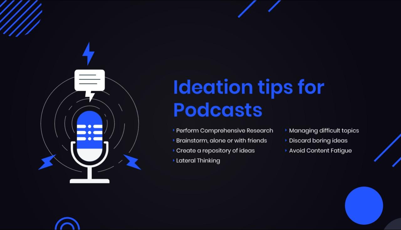 Podcast ideas: Ideation Tips for podcast