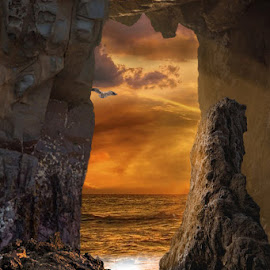 by Bruce Cramer - Landscapes Caves & Formations (  )