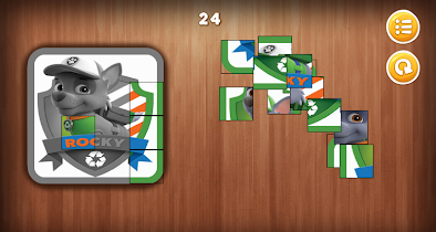 Paw Puppy Patrol Puzzle - screenshot thumbnail 07