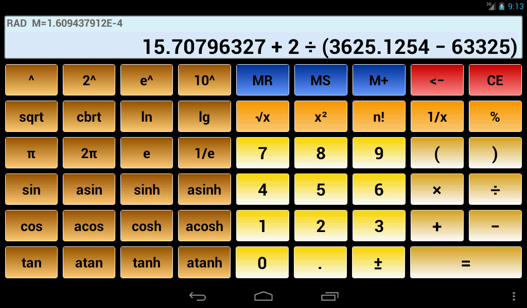 Scientific Calculator 3 on Google Play Reviews | Stats