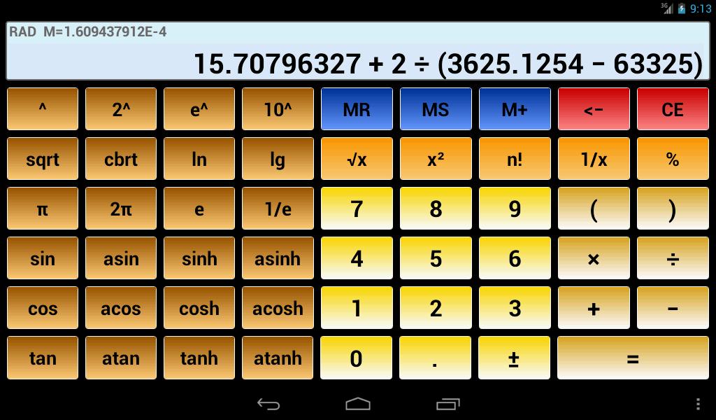 Scientific Calculator 3
