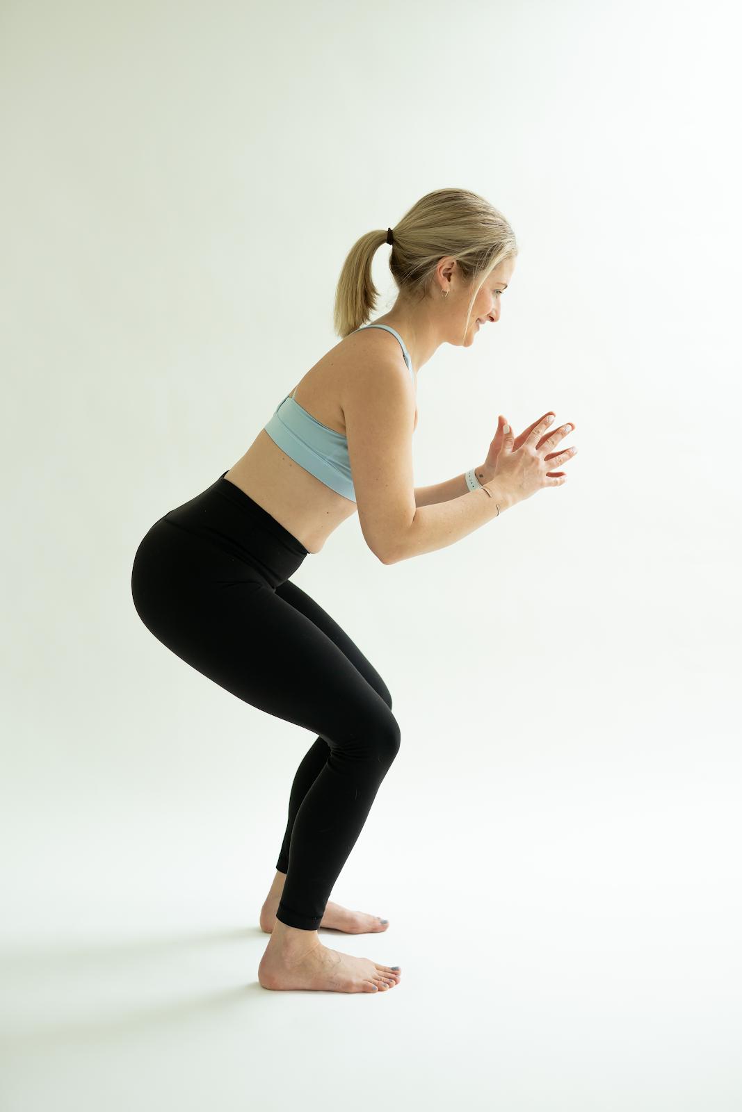 light postpartum workout