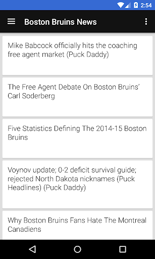 BIG Boston Hockey ニュース