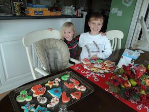 Photo: Proud cookie decorators