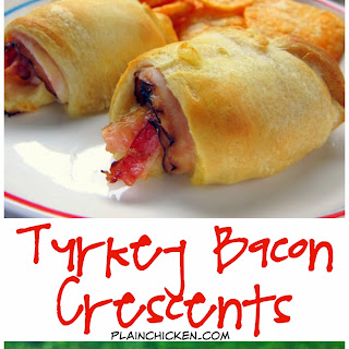 Turkey Bacon Crescents