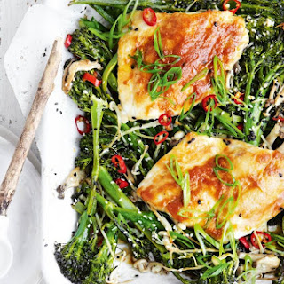 Miso Butter Snapper With Broccolini