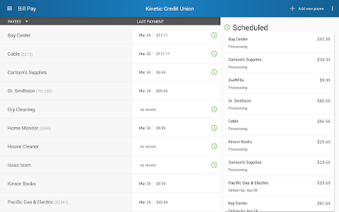 Kinetic Credit Union screenshot 8