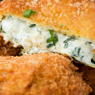 1. Spinach Artichoke Dip Onion Rings