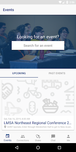 Screenshot for LMSA Events in United States Play Store